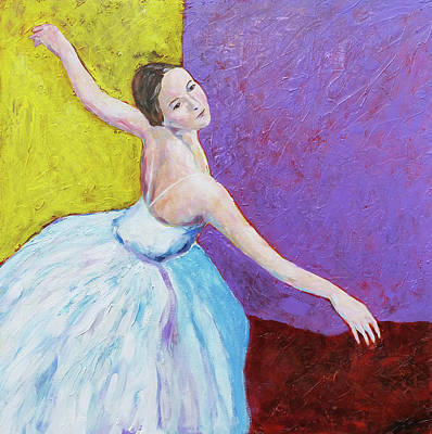 Painting - Dance Recital  by David Maynard