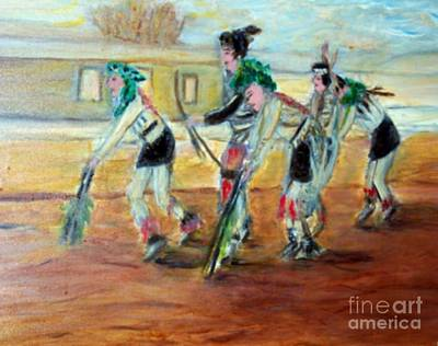 Painting - Dance by Stanley Morganstein