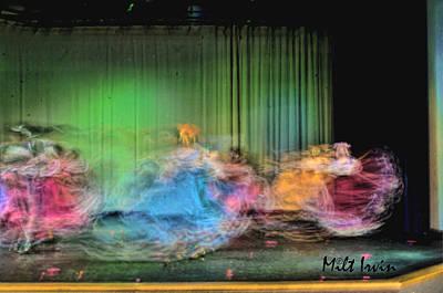 Folklorico Digital Art - Dance Study #32 by Milton Irvin