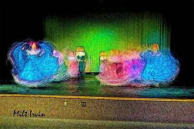 Folklorico Digital Art - Dance Study #33 by Milton Irvin