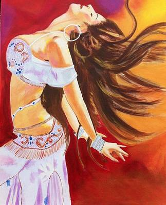 Openness Painting - Dance To Be Free by Yvonne Payne