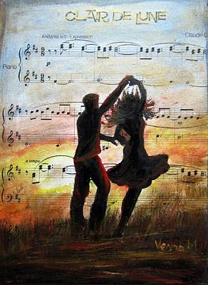 Mixed Media - Dance by Vesna Martinjak