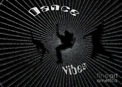 Digital Art - Dance Vibes by Lance Sheridan-Peel