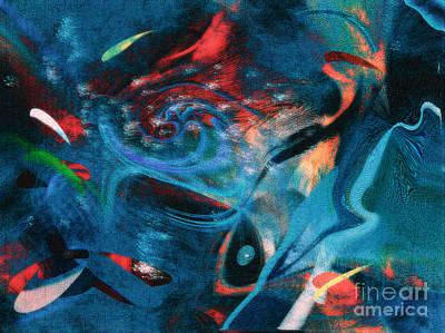 Digital Art - Dance by Yul Olaivar