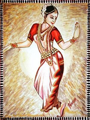 Dancer Painting - Dancer 1 by Harsh Malik