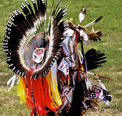 Pow Wow Photograph - Dancer 174 by Chris Brewington Photography LLC