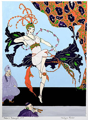 Rubaiyat Painting - Dancer 2 by Carolynn Fischel