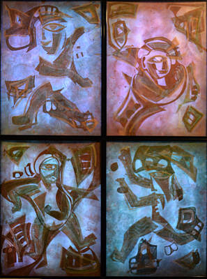Dancer 4 - With Light And Little Ambient Light Original by Sanjib Mallik