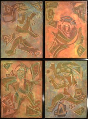 Dancer 4 - With No Light Original by Sanjib Mallik