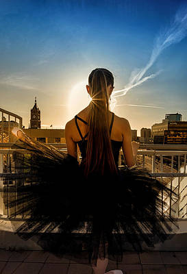 Photograph - Dancer At The Barre by Dave Koch