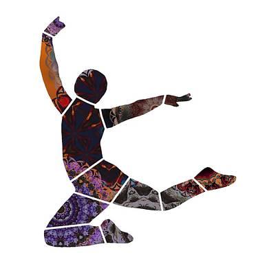 Digital Art - Dancer by Cecilia Swatton