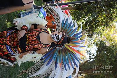 Dia De Los Muertos Photograph - Dancer Day Of The Dead II by Chuck Kuhn