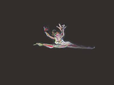 Dancer Art Print by Derrick Hayes