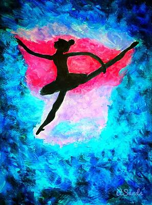 Painting - Dancer Dream by Anne Sands