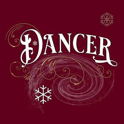 Digital Art - Dancer by Gina Harrison