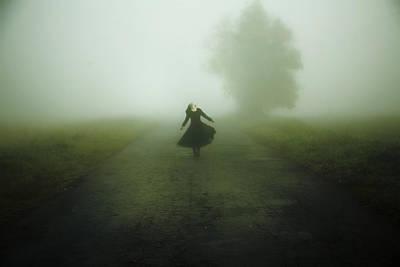 Rural Landscapes Photograph - Dancer by Art of Invi