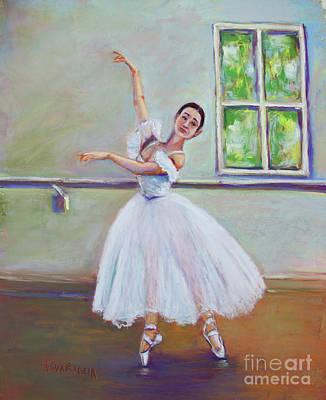 Pastel - Dancer by Joyce A Guariglia