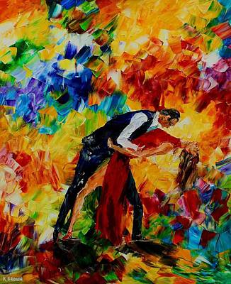Painting - Dancer by Kevin Brown
