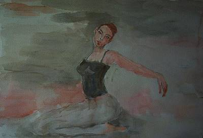 Dancer Art Print by Liliana Andrei