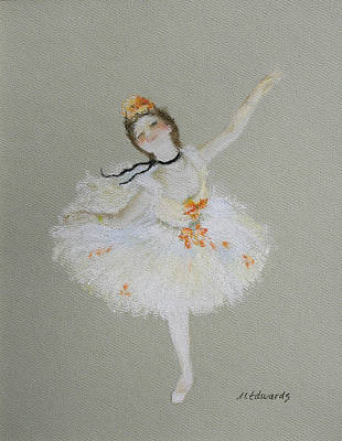 Dancer Art Print by Marna Edwards Flavell