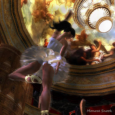 Dancer Art Print by Monroe Snook