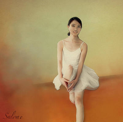 Shakespearean Painting - Dancer Number 6 by Salome Hooper