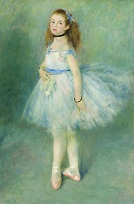 Prima Ballerina Painting - Dancer by Pierre-Auguste Renoir
