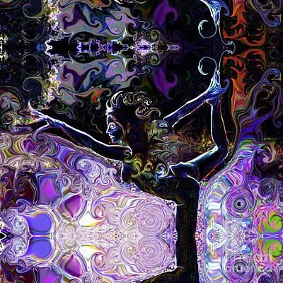 Digital Art - Dancer Pose by Deprise Brescia