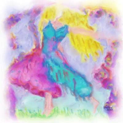 Painting - Dancer by Shelley Bain