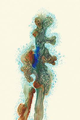 Dancer- #ss14dw030 Art Print by Satomi Sugimoto