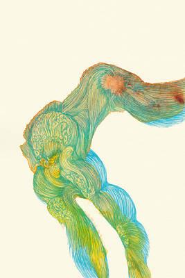 Dancer- #ss14dw039 Art Print by Satomi Sugimoto