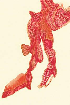 Dancer - #ss14dw041 Art Print by Satomi Sugimoto