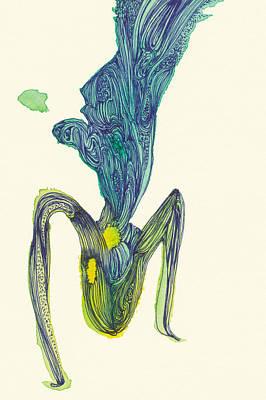 Dancer - #ss14dw045 Art Print by Satomi Sugimoto