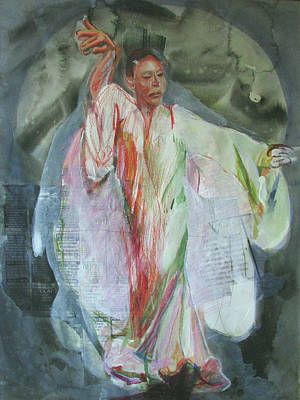 Serbia Mixed Media - Dancer3 by Daniel Whitmer