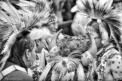 Photograph - Dancers And Friends by Clarice  Lakota