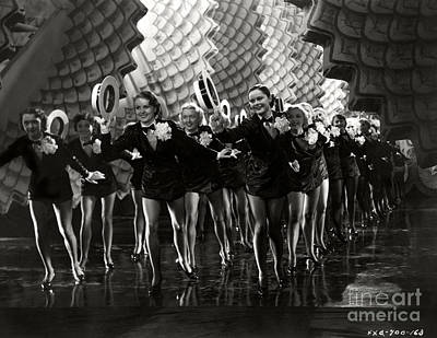 Priska Wettstein Pink Hues - Dancers Folies Bergere de Paris 1935 by Sad Hill - Bizarre Los Angeles Archive