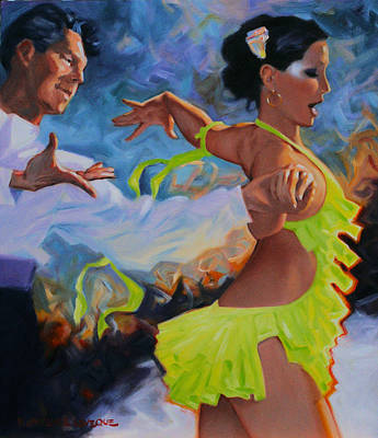 Dancers Original by Kevin Lawrence Leveque