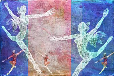 Digital Art - Dancers by Sandra Selle Rodriguez