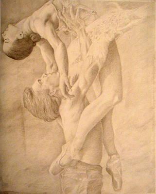 Dancers Print by Sarabeth Kett