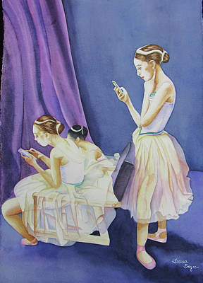 Painting - Dancer's by Teresa Beyer