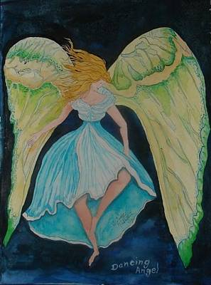 Painting - Dancing Angel by Windy Mountain