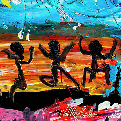Painting - Dancing Around by Neal Barbosa