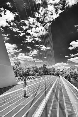 Photograph - Dancing At Sundial Bridge by Sagittarius Viking