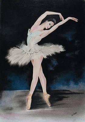 Pastel - Dancing Ballerina by Paul Cubeta
