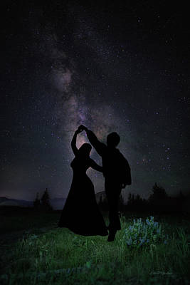 Photograph - Dancing Beneath A Night Sky by Ericamaxine Price