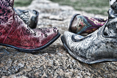 Photograph - Dancing Boots by Sharon Popek