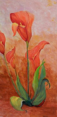 Painting - Dancing Callas by Betty-Anne McDonald
