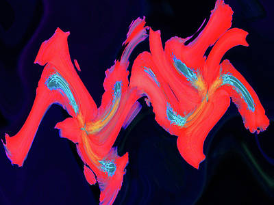 Photograph - Dancing Colors 4 by Margaret Saheed