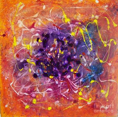 Painting - Dancing Colors by Boyd Sharp