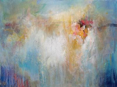 Multi Colored Painting - Dancing Colors  by Karen Hale